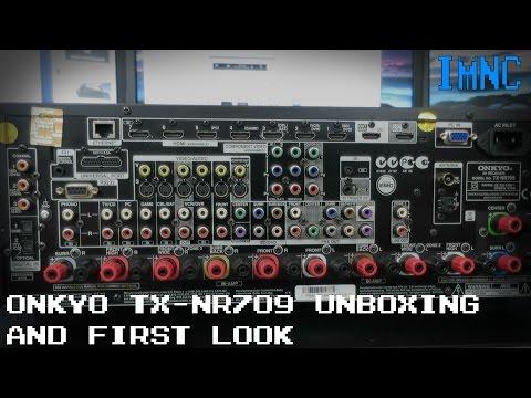 Onkyo TX-NR709 AV Receiver Unboxing & First Look | IMNC