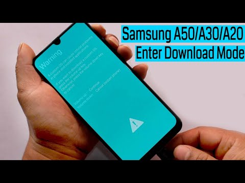 Samsung A50/A30/A20/A10 Enter Into Download Mode New Trick 2019