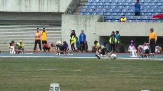 106年高雄市港都盃全國田徑賽200公尺21秒14破大會