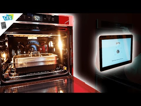 The kitchen of the future. Today. KitchenAid at CES 2019