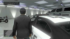 GTA V ONLINE: How To INSURE ANY VEHICLE AND PUT IT IN YOUR GARAGE! (OWN Cop Cars, Fire Trucks etc.)