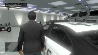 Game | GTA V ONLINE How To INSURE ANY VEHICLE AND PUT IT IN YOUR GARAGE! OWN Cop Cars, Fire Trucks etc. | GTA V ONLINE How To INSURE ANY VEHICLE AND PUT IT IN YOUR GARAGE! OWN Cop Cars, Fire Trucks etc.