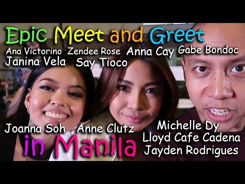 MOST EPIC MEET & GREET IN MANILA (feat. Pinoy Youtubers) | March 5th, 2017 | Vlog #45