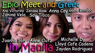 MOST EPIC MEET & GREET IN MANILA (feat. Pinoy Youtubers)   March 5th, 2017   Vlog #45