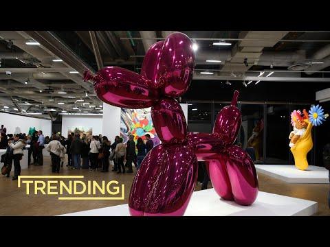 Pop Artist Icon Jeff Koons' First Solo Exhibition in Tel Aviv Museum of Art