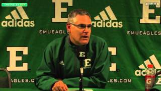 EMU Football Postgame Press Conference - WMU (Oct. 29, 2015)