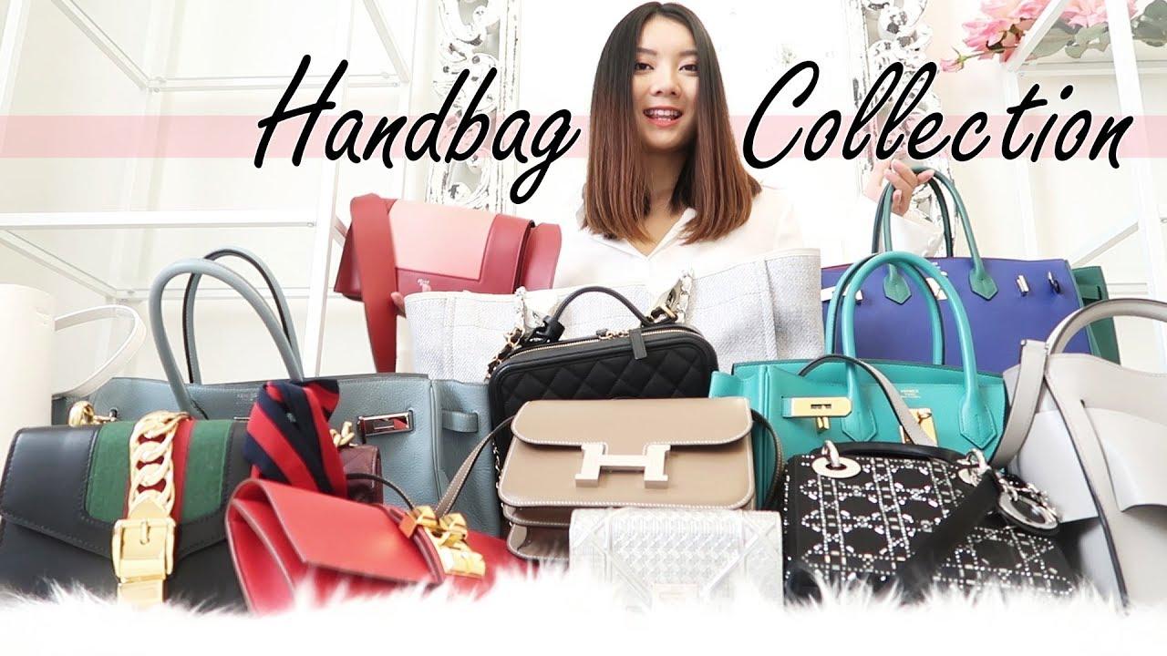 de75806c39c HANDBAG COLLECTION 2018   我的包包合集  Hermes Dior Chanel Gucci Celine