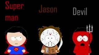 Çizgi Film Karakterleri South Park Style