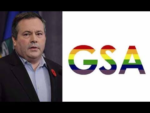 Jason Kenney - Why He Opposes Bill 24 On GSAs   Gay-Straight Alliances
