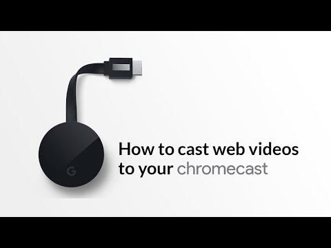 How to Cast Web Videos from iPad or iPhone to Chromecast