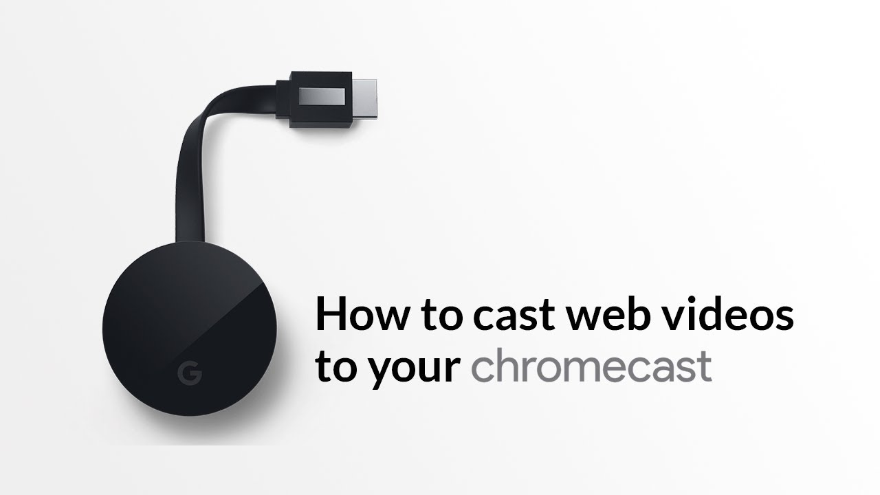 How to cast video from iphone to tv using chromecast