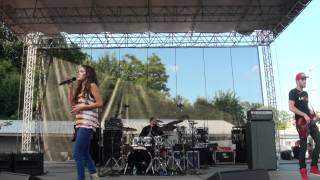 Britt Nicole - Ready or Not - Six Flags America, MD 2012