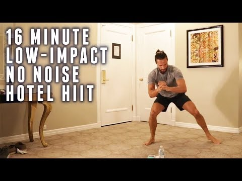 16 Minute Hotel HIIT Workout | Low Impact | No Noise | The Body Coach
