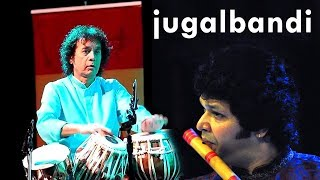 Rakesh Chaurasia & Zakir Hussain | Flute Tabla Jugalbandi | Jugaldiaries