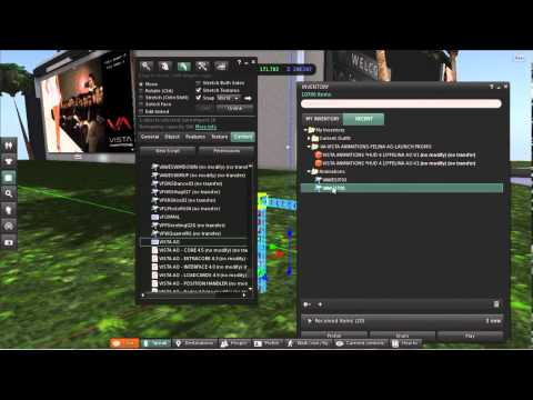 VISTA ANIMATIONS How to add new animation into the VA AO HUD (Second Life)