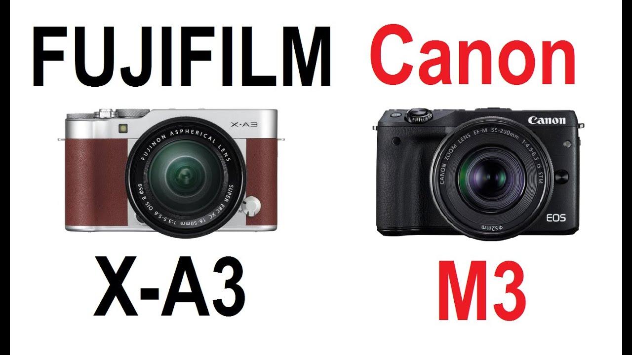 FUJIFILM X A3 Vs Canon EOS M3