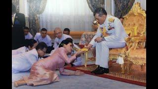 สมเด็จพระเจ้าอยู่หัวทรงประกอบพระราชพิธีราชาภิเษกสมรส สถาปนาสมเด็จพระราชินี
