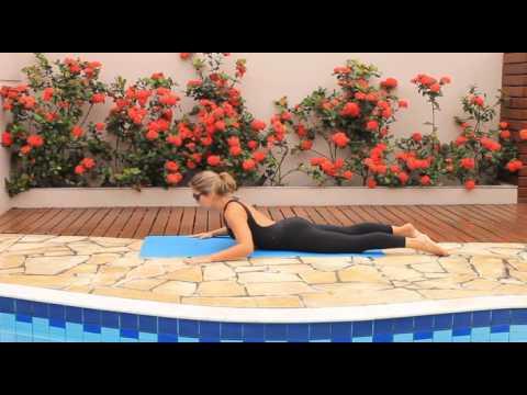 Aulas de Mat. Pilates - Básico/Intermediário - Aline Abad