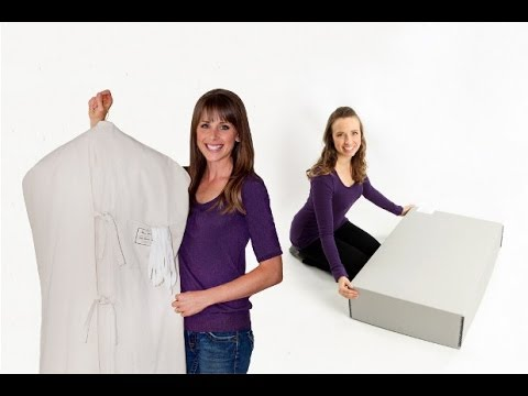 Museum Method vs Heritage Box Wedding Gown  Preservation