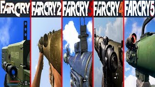 ROCKET LAUNCHERS In Far Cry Games