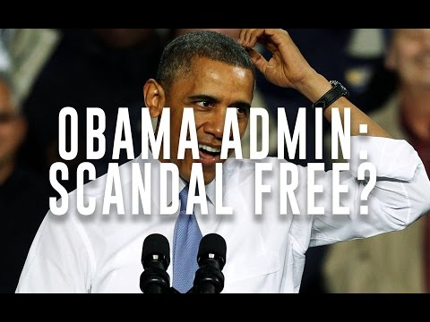 "Obama Thinks his Administration was ""Scandal Free"""