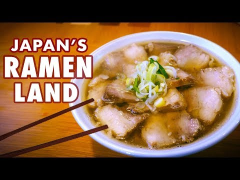 Journey to Japan's Ramen Capital | Road Trip