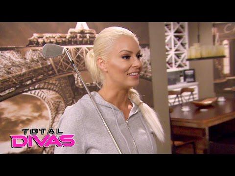 Eva Marie keeps a paranoid Maryse company while The Miz is away: Total Divas, Dec. 14, 2016