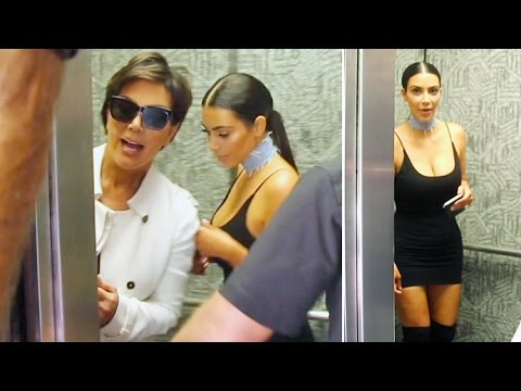 Kris Jenner Reveals 'I'm Pregnant' Leaving OBGYN With Kim Kardashian