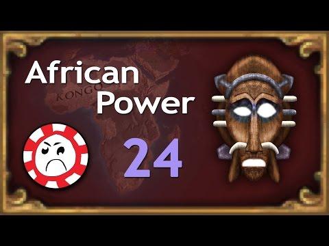 Kongolese-French Stupid War! [24] Kongo African Power EU4