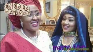 Zahra buhari muna taya Amarya da Ango murna Ahmed Indimi da Zahra buhari