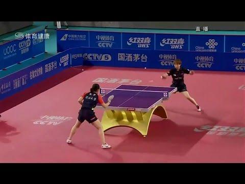 2016 China Super League: CHEN Meng Vs ZHU Yuling [Full Match/Chinese|HD]
