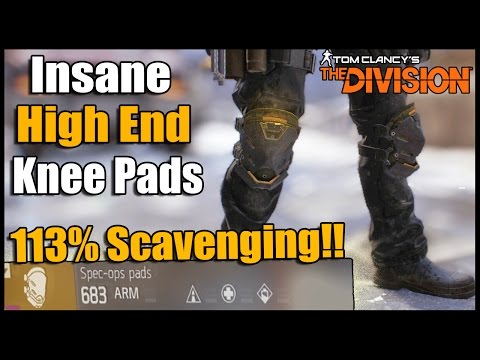 The Division: How to Get Insane Gear Piece That Gives 113% Scavenging! (Find More, and Better Loot)