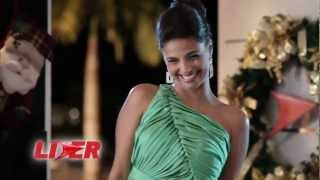 Emanuelle Araújo estrela comercial natalino do Supermercado Líder