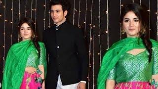 Priyanka's The Sky Is Pink Co Star Zaira Wasim Attends Priyanka Chopra Nick Jonas Mumbai Reception