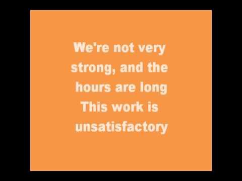 Victorian Work Song Lyrics