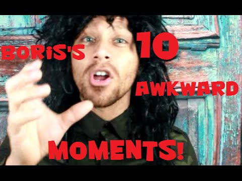 Boris's 10 awkward moments