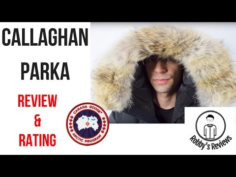 c5a49f4fbae Rating and Revew: Canada Goose Callaghan Parka - YouTube