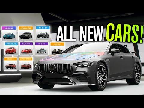 ALL NEW CARS in Forza Horizon 4 (Update 8, AMG GT 4-Door, 599XX E & Drift Adventure) thumbnail