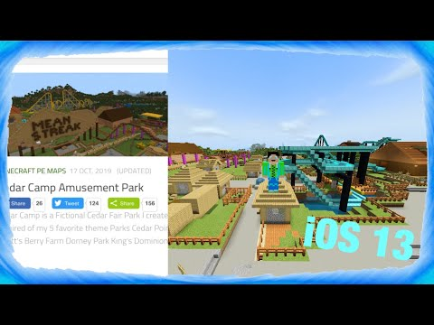 How To Install Minecraft Worlds On IOS 13(mcpack/.mcworld)