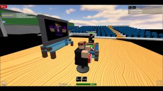 Imawesomedog talk show on roblox with guest theassasin983