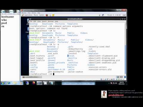 Understanding linux basic commands Part1 - One of the Best Video