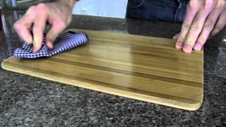 How to Condition Your Bamboo Cutting Board