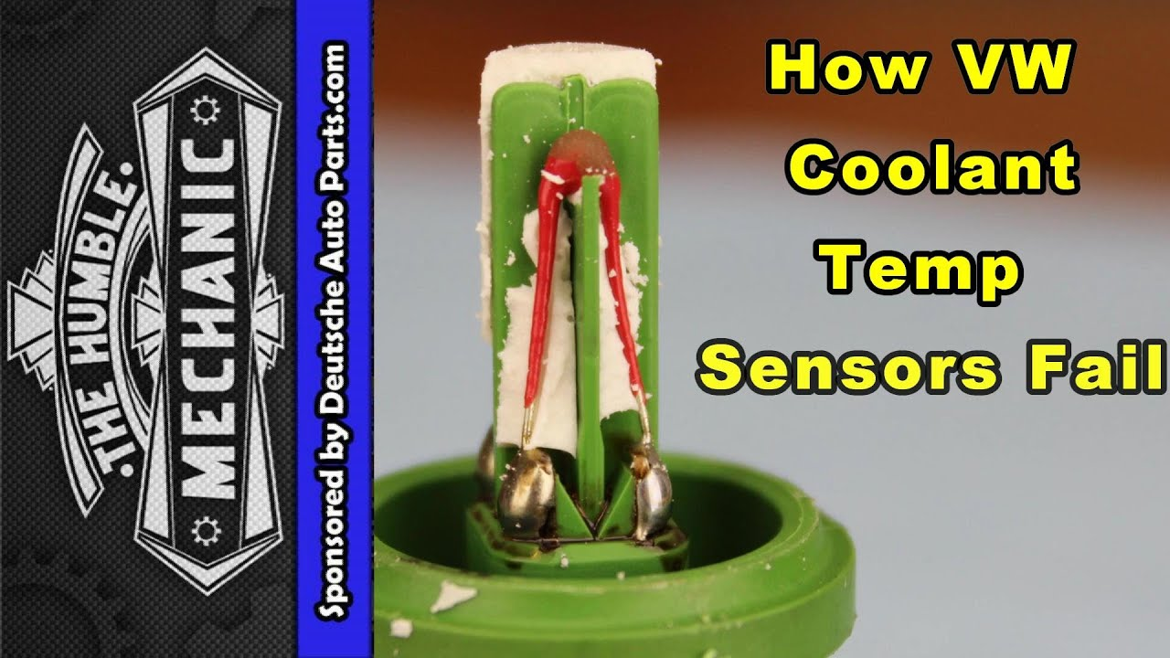 How Vw Coolant Temperature Sensors Fail Youtube Ac Compressor Wiring Plug Pigtail 9299 Jetta Golf Gti Passat