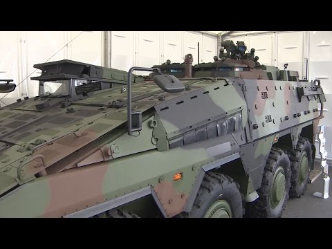 Choosing The Eight Wheeled Armoured Vehicle Of The Future | Forces TV