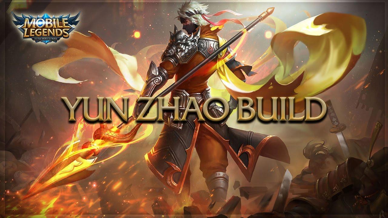 Mobile Legends Zilong Dragon Knight Savage Build