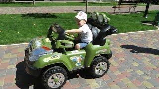 Катаемся на машинке Джип. Видео про машинки.Videos for kids. Cars for children.