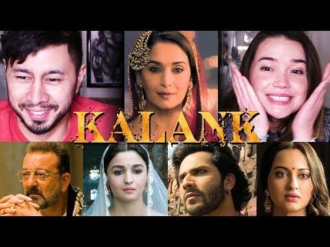 KALANK | Teaser Reaction | Varun | Aditya Roy | Sanjay | Alia | Sonakshi | Madhuri