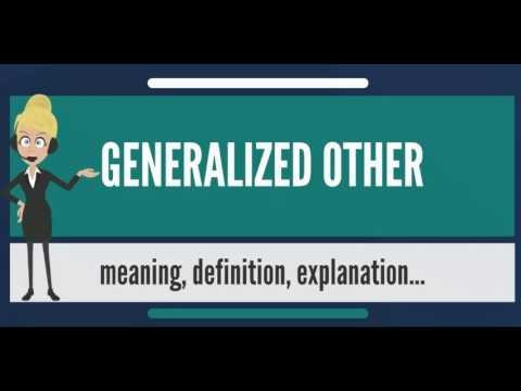 Generalized Other Sociology