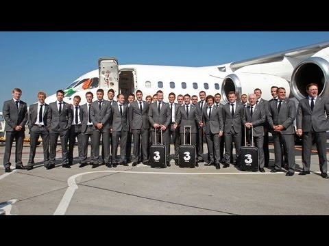 Irish Soccer Squad Travel To Italy