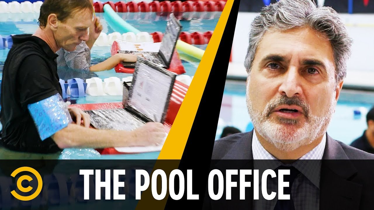 Office Staff Works In a Pool – Mini Mocks